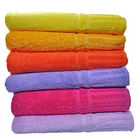 bath towels luxury 650 gram cotton bath towel pink set of 2