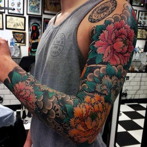 japanese flower tattoo for men 50 japanese tattoos for masculine motifs