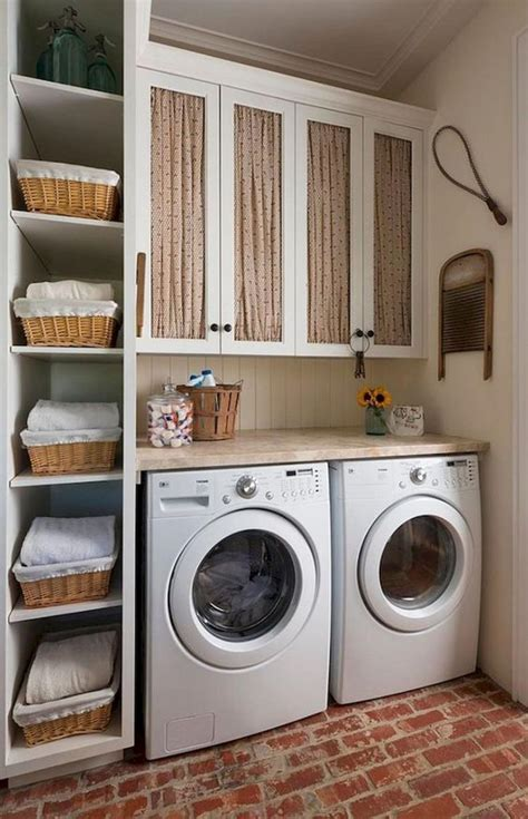 farmhouse rustic laundry room decor ideas