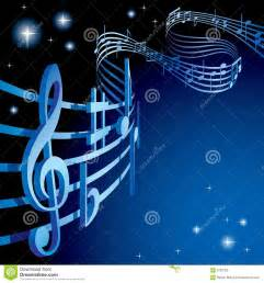 Music Themed by Background On A Musical Theme Stock Photography Image
