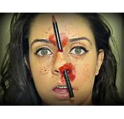 Tutorial L&225pis No Nariz  Maquiagem Art&237stica YouTube