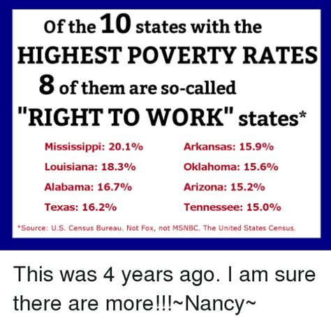 best states to work in 25 best memes about right to work states right to work
