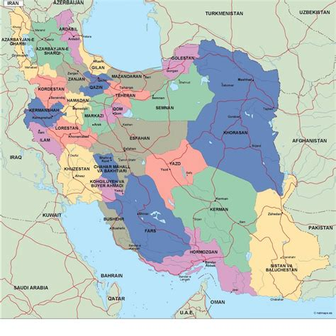 map or iran political map of iran map pictures