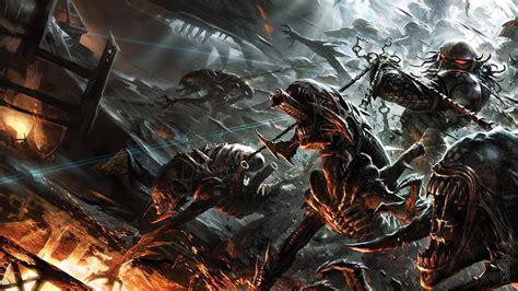 vs predator xenomorph predator vs predator wallpapers