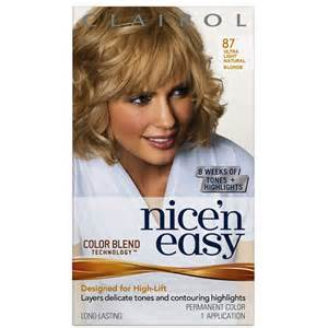 and easy hair color buy clairol n easy with color blend permanent hair