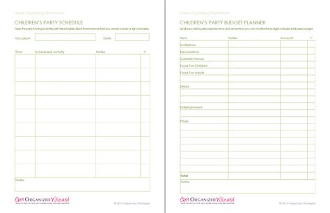 printable home organizing worksheets home organization worksheets household to do lists