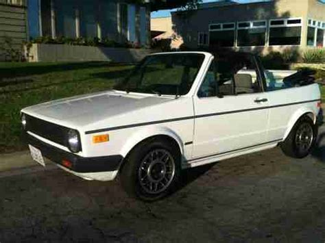 car engine manuals 1986 volkswagen cabriolet navigation system purchase used extremely clean ca owned rust free 1986 volkswagen cabriolet rabbit convertible in
