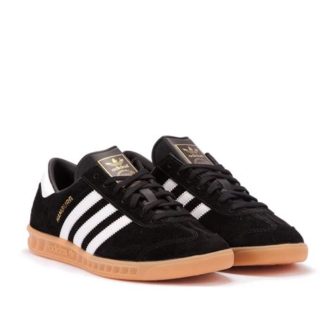 adidas hamburg black adidas hamburg black white s76696