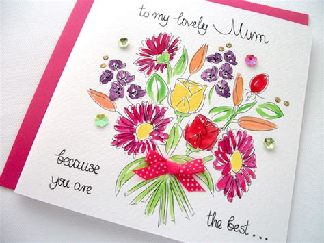 mother day greeting card design fab floral mother s day cards