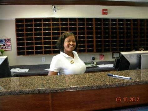 front desk clerk troylynn picture of home towne studios