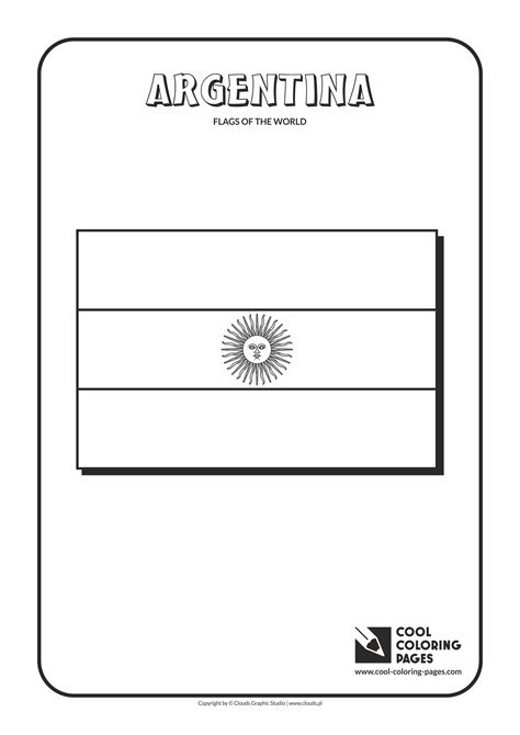 geography blog argentina flag coloring page coloring