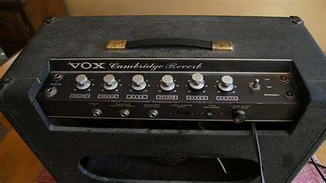 Ac Sharp Pj A36ty W vox cambridge reverb combo 1965 reverb