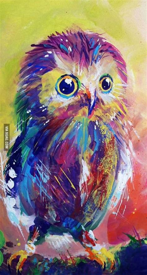 paint nite joey espinosa 25 best ideas about owl paintings on colorful