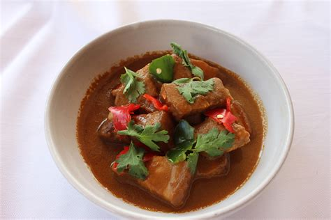 Calystakitchen Rendang Babi Rendang Pork reminisce the authentic nyonya flavours at the kitchen