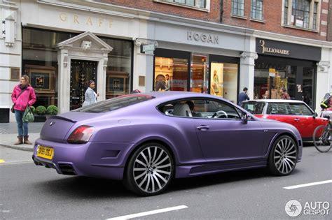 matte purple bentley bentley mansory continental gt speed 18 april 2014