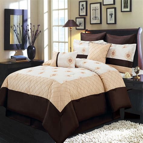 olympic queen bed madison gold 8 piece comforter set olympic queen