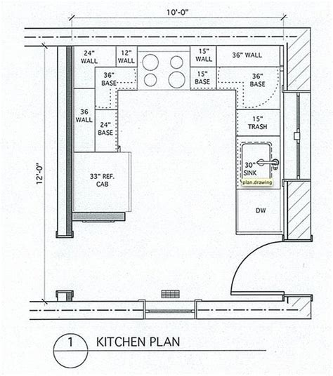 floor plan dimensions best of small kitchen floor plans small u shaped kitchen with island and table combined