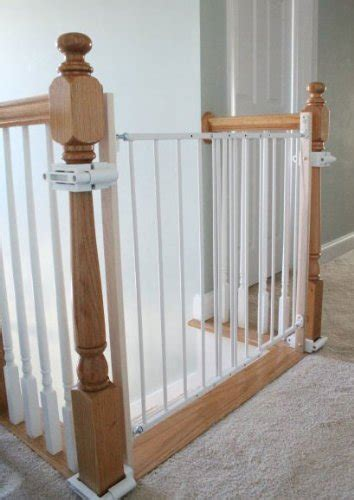 Safety Gate For Top Of Stairs With Banister by Baby Proofing Your Home With Best Safety Products And