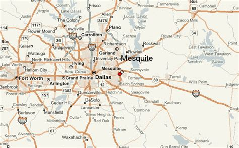 mesquite texas map mesquite location guide