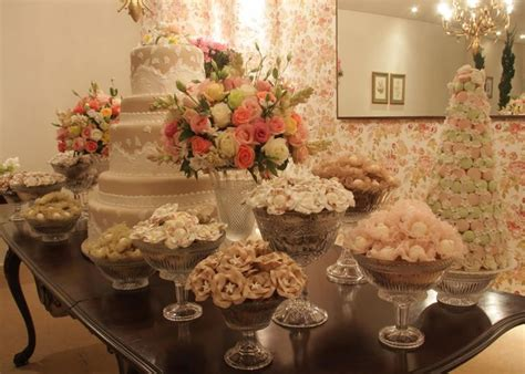 shabby chic bridal shower tablescapes center pieces