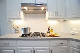 Subway Tile In Kitchen Backsplash White Subway Tile Backsplash
