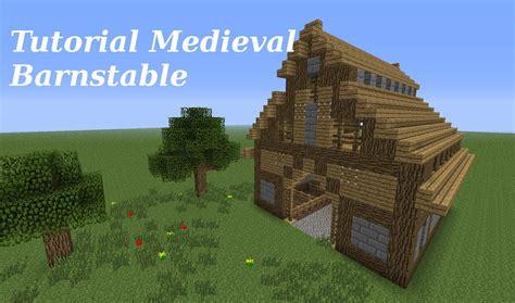 Farm House Blueprints by Minecraft Tutorial Medieval Barnstable Youtube