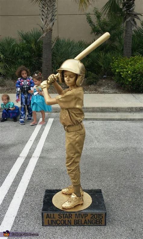 baseball trophy boys homemade costume