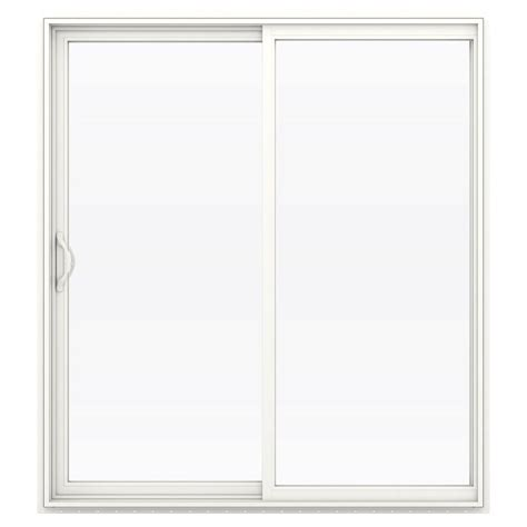 Stanley Patio Doors Reviews Stanley Doors 72 In X 80 In Sliding Patio Door With Mini Blinds 600004 The