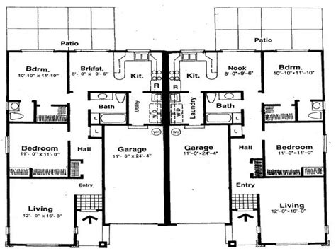 Floor Plans With 2 Masters Floor Plans With Two Master | small two bedroom house plans house plans with two master