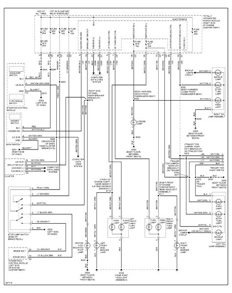 jeep brake light switch wiring diagram circuit and
