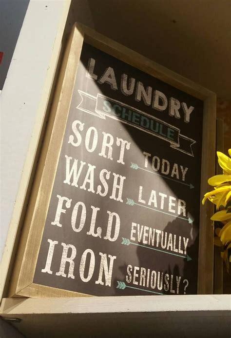 laundry room signs ideas  pinterest laundry