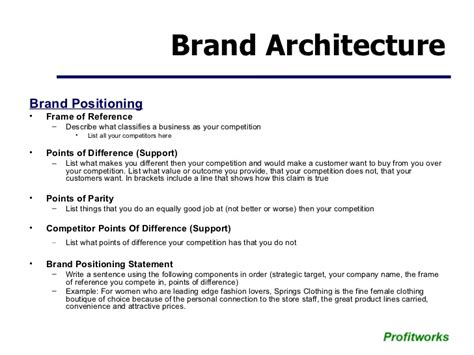 Marketing Plan Template Small Business Business Plan Template For Fashion Brand
