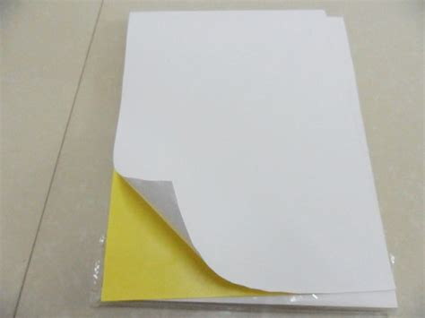 How To Make Adhesive Paper - wholesale factory price 1000 sheets a4 size blank matte