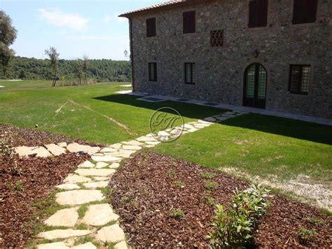Garden House Lazzerini by Camminamento In Pietra Naturale Camminamento In Pietra