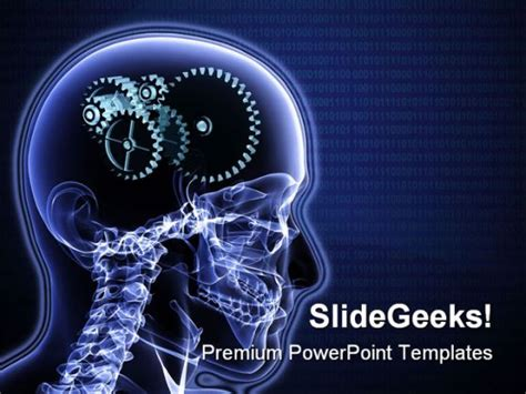 science ppt themes free download brain gears science powerpoint template 0610