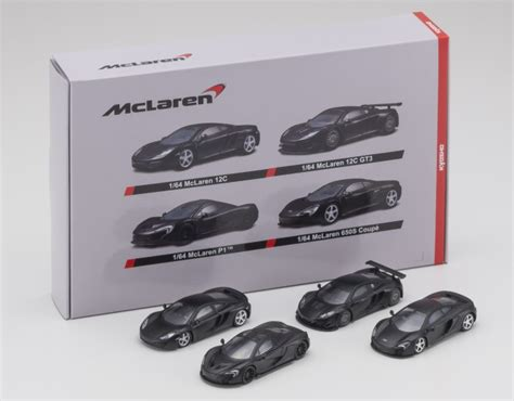 Kyosho 1 64 Mclaren 4 Models 12c 12c Gt3 P1 650s Coupe Matte news kyosho 1 64 mclaren and new sunkus lottery system 829 japan