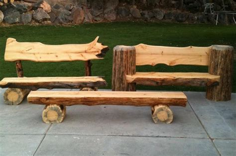 how to build log bench sawing and building log benches with a portable sawmill