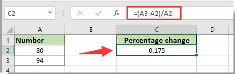 html format number as percentage how to calculate percentage change or difference between