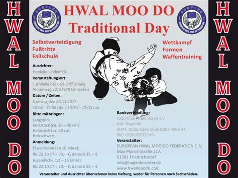 moo do hwal moo do traditional day 2017 hapkido lindenfels