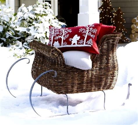 24 attractive christmas sleigh decoration inspirations
