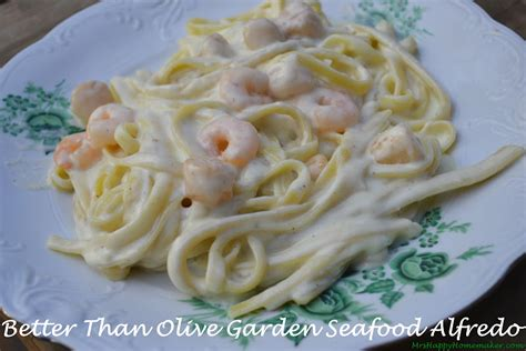 Olive Garden Seafood Alfredo by Better Than Olive Garden Seafood Alfredo