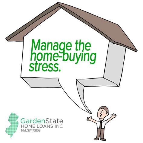 buying a house stress how to manage stress when house hunting garden state