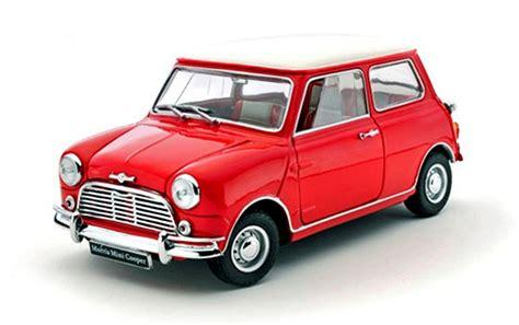 models morris mini cooper s mk1 1275s with white