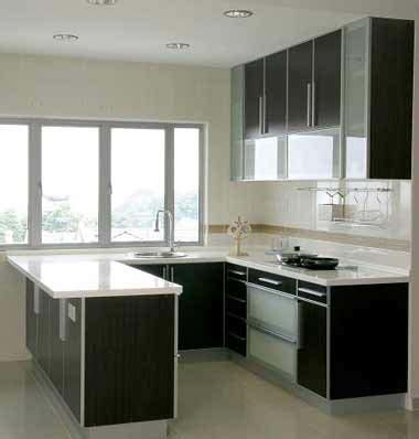 Black Kitchen Island With Stainless Steel Top Kitchen Cabinet Design
