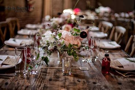 rustic tablescapes rustic wedding tablescape flowers design pinterest