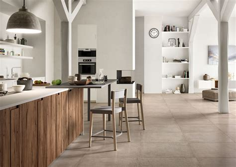 Kitchen Of The Future by Clays Terracotta Effect Porcelain Stoneware Marazzi