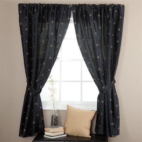 Fleur De Lis Curtains Ellis Curtain Fleur De Lis Lined Curtain Panel Traditional Curtains By Hayneedle