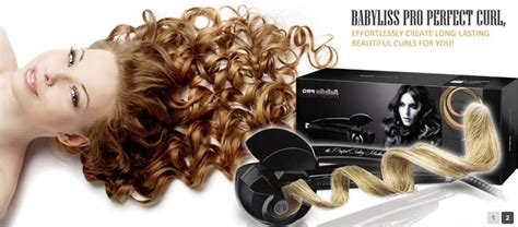 Curling Babyliss Pro Titanium Ori by Babyliss Miracurl Automatic Hair Iron Original