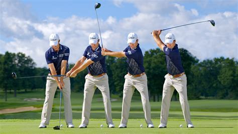 sequence of golf swing swing sequence robert streb photos golf digest