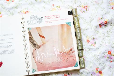 Handmade Cookbook - diy recipe book a beautiful mess